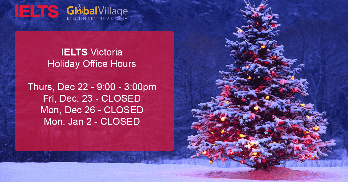 Holiday Office Hours