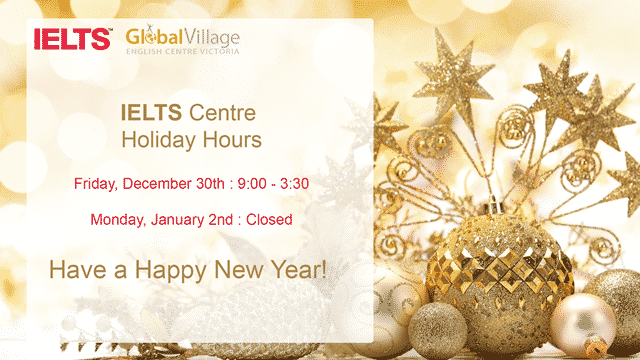 New Years Holiday Hours